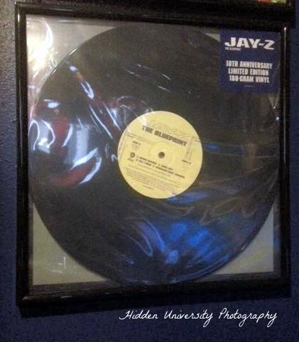 Blueprint vinyl